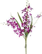 Smart Sense Artificial Purple 21 inch Dancing Lady Orchid Liquid Illusion Silk Flower Arrangement In Single Stem(1 pc, Purple)