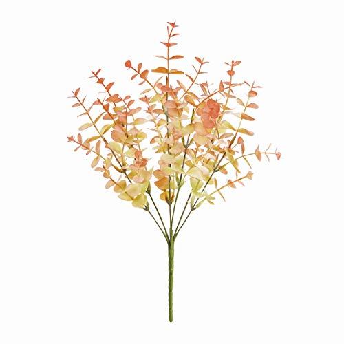 東京堂 アーティフィシャルフラワー 造花 クラリティユーカリブッシュ ピンク 長さ 約34×幅 約22cm FG005210-002 1本