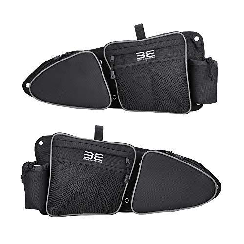 Side Door Bags, New Design, Premium Offroad Front Door Side Storage Bag Set w/Knee Pad, Compatible With 2014-2020 Polaris RZR XP Turbo Turbo S 1000 S900