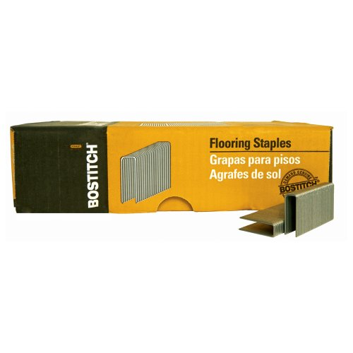BOSTITCH Flooring Staples, Hardwood, 15-1/2 GA, 1-1/2-Inch, 1000-Piece (BCS1512-1M)