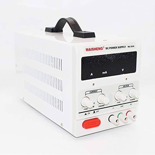 Isunking Einstellbare Laborbank DC Schaltnetzteil MS-305D 0-30V 0-5A 150W