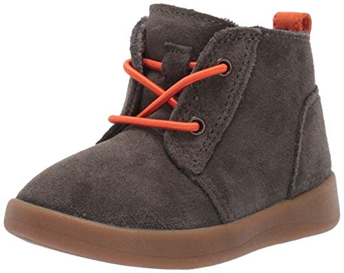 UGG Baby Kristjan Chukka Boot, Black Olive, 02/03 M US Infant