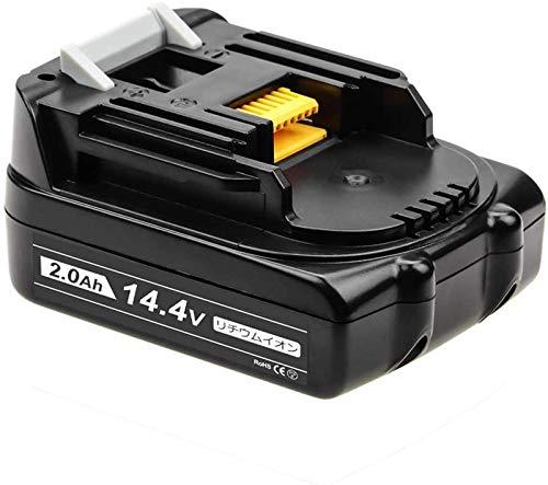 Baster 互換 マキタ14.4vバッテリー マキタバッテリー 14.4v bl1420 2.0Ah 互換品マキタ bl1460b bl1450 bl1430b bl1430 bl1470 bl1490対応 電動工具用電池 高品質セル搭載 PSE CE取
