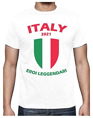 Camiseta para Hombre - Italia Héroe Legendario del Campeonato de Europa de...