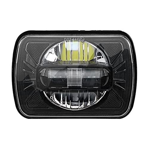 Juego De Bombillas LED Para Faros Delanteros 5X7 7X6, Luz Sellada Para Faros Delanteros Todoterreno Para YJ Wrangler XJ Chevrolet K5 K10 K20 K30 Blazer,1pcs