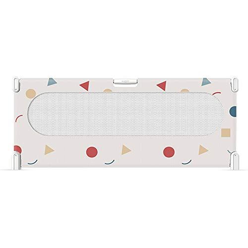 grand lit déflecteur, entièrement rabattable, barrière de sécurité rampante pour enfant en bas âge, 75 cm, rabattable verticalement à 180 degrés