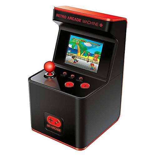 IDE Play Macchina Mini Arcade Bollard Pac-Man Arcade Retro-Mini del Gioco della Galleria 2.5Inch Classic apparecchi da intrattenimento Portatile, costruito in 300 Games