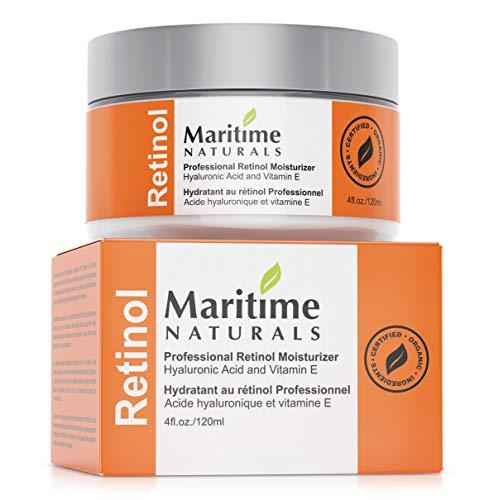 Hydratant pour le Visage au Rétinol de Qualité Supérieure de Maritime Naturals - 6