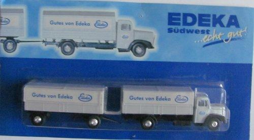 Edeka Nr.30 Südwest - Man Diesel 156/F6 LH - Hängerzug Oldie