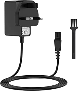 BENSN Charging Lead Razor Charger 15V Power Adapter for Philips HQ8505,Philips multigroom Shaver Series 3000/5000/7000/900...