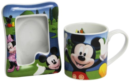 Mickey Mouse Mickey & Friends 770124 and Friends Set Tasse und Fotorahmen