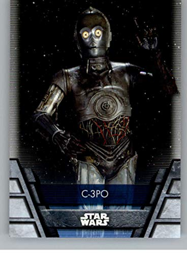 2020 Topps Star Wars Holocron Series Short Prints NonSport STANDARD SIZED TRADING CARD #Rep-8S C-3PO SP Short Print