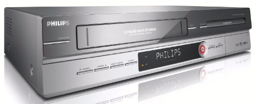 Philips DVD R 3510 V 31 DVD-Rekorder / Video-Rekorder Kombination silber/schwarz