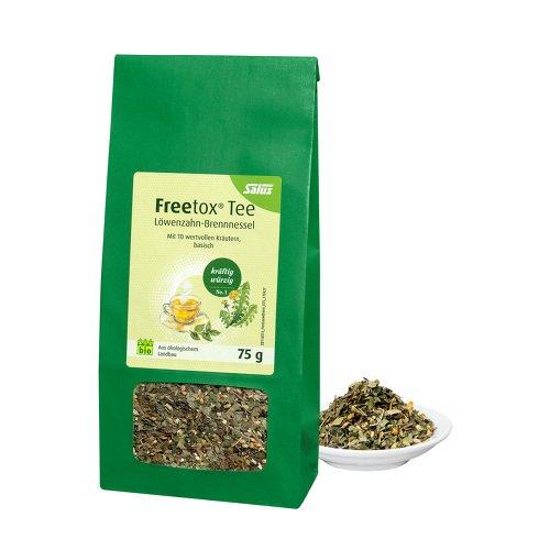FREETOX Tee Löwenzahn-Brennnessel Bio Salus 75 g Tee