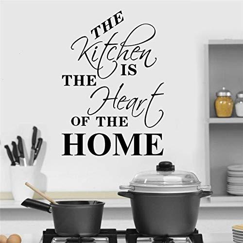40x57cm, pegatinas de pared 3d, pegatinas inspiradoras, cita de cocina, restaurante, cocina, diseño de interiores, impresión de la casa, pegatinas de argot, póster de imagen, imagen de regalo, mural,