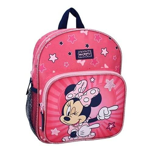 Vadobag Kinderrucksack Minnie Mouse Kindergartenrucksack Kindergartenrucksack 29x23x8cm Mädchen...