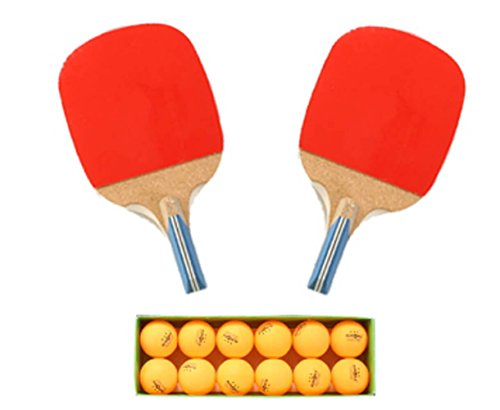 Why Should You Buy Dadangi Sports Table Tennis Racket 2 pcs + 12 Ping Pong Balls (A Type Cross-Secti...