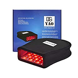 DGXINJUN Red Light Therapy Devices Near Infrared LED 880 NM Hand Pain Relief Double Side pad for Fingers Wrist Photobiomodulation Arthritis Joint and Muscle Home Use (2020 SMD Hand)