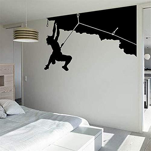 istanbul wandtattoo uhr Klettern Aufkleber Kletterer Aufkleber benannt Poster Parede Decor Wandbild Klettern für Wohnzimmer
