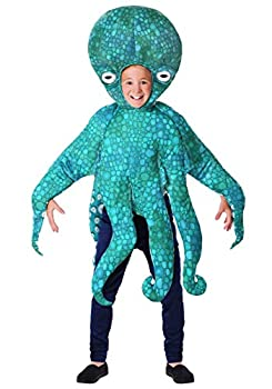 Child Blue Octopus Costume Medium