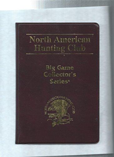 North American Hunting Club Big Game Collector's Series Medallions- Whitetail Deer, Black Bear, Grizzly Bear, Elk, Mule Deer, and Moose