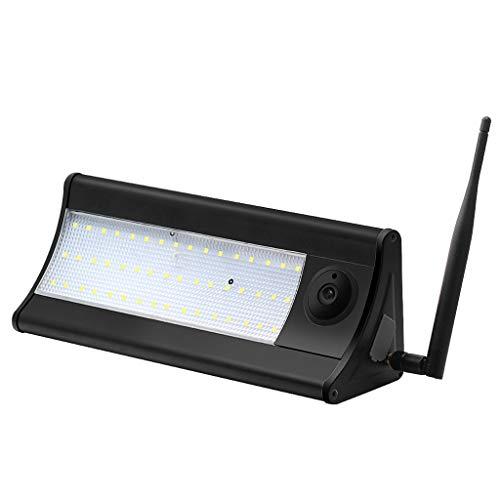 WYNA Überwachungskameras im Freien, Smart Radar Menschlicher Körper Bewegungsinduktion Nachtsicht Überwachungskamera Wireless Solar Lichtsensor LED