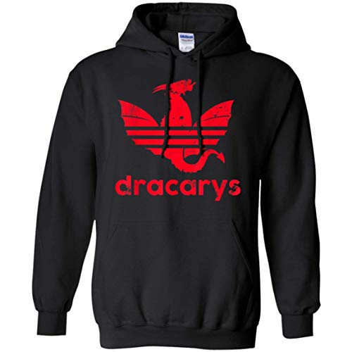 Dracarys T Shirt Geschenk für Männer Frauen Pullover Hoodie für Männer Frauen Idee für Fan Love Game of Thrones, XXL