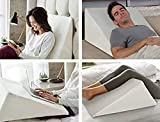 Best Bed Wedges - Large Wedge Pillow - Orthopaedic Acid Reflux, Reduce Review