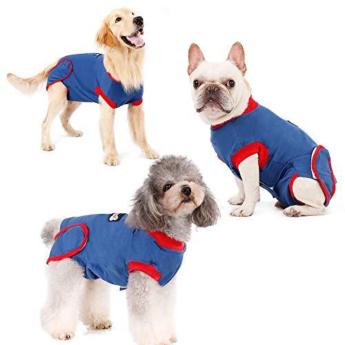 FanSi Recovery Suit Hund Wundschutzanzüge für Hunde Wundschutz für Hunde, medizinische Kleidung, nach Operationen, Ersatzkragen und Kegel
