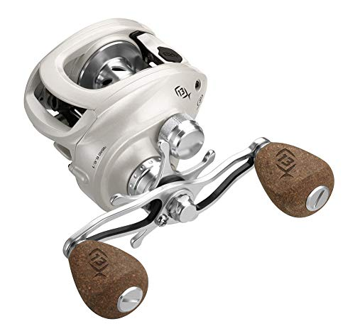 13 FISHING Concept C Carrete de Casting, Blanco, 7.3:1