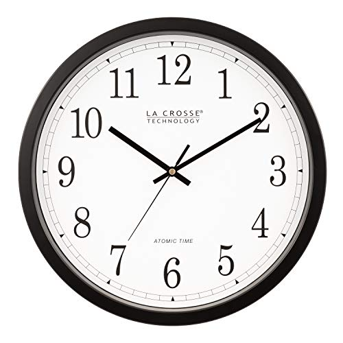 La Crosse Technology WT-3143A-INT 14-Inch Atomic Wall Clock