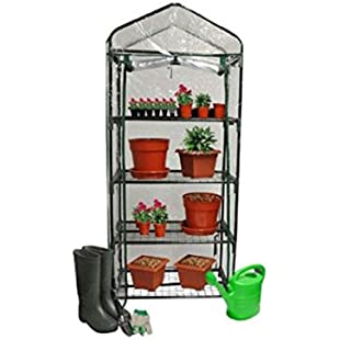 Kingfisher GHPRO Premium 4 Tier Greenhouse - Clear:Hotviral