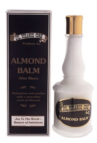 Col. Conk Men's ALMOND Luxury after SHAVE NEW Excellence by balm LOTION Colonel Co