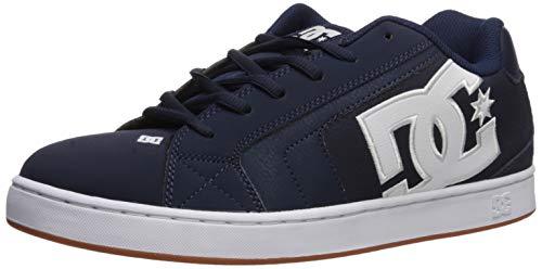 DC Herren NET Skate-Schuh, Marineblau Gum, 53.5 EU