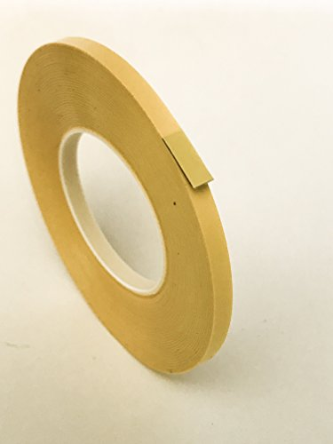 Tape 1/8'' 3 mm Yellow Matte (2 Pack) Chart Tape/Whiteboard Gridding Tape/Artist Tape/Model Hobby Tape/Dry Eraser Board Tape