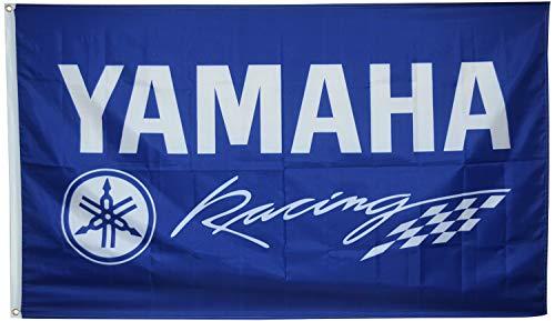 Dimike Yamaha Racing Flagge Motorrad Bike Moto GP 91 x 152 cm Banner
