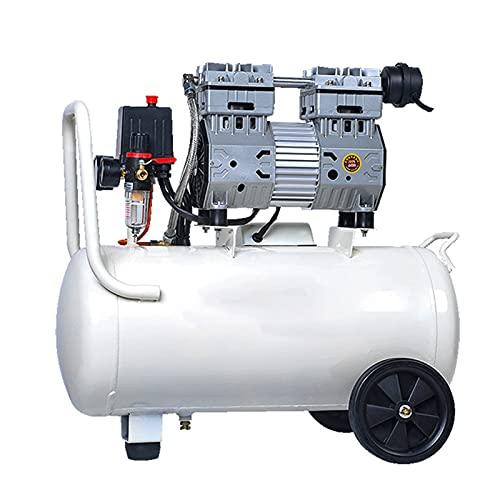 WUK 220V Professional Air Compressor Oil-Less Quiet Spraying Air Pump 600/800/850W Industrial Portable Air Compressor, Home Decoration Auto Repair