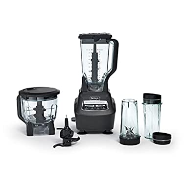 Ninja Mega Kitchen System Blender and Food Processor with Nutri Ninja Cups - BL770 (Certified Refurbished)