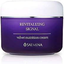 [SAEMINA] Revitalizing Signal Velvet Nutrition Cream 100g/3.53oz, Long-lasting intensive moisturizing & nourishing cream for dry skin