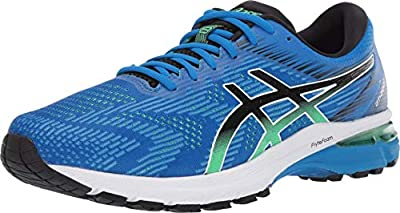 ASICS Men's GT-2000 8 Shoes, 10M, Electric Blue/Black