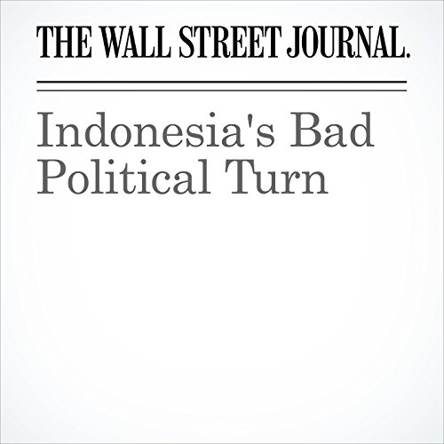 Indonesia's Bad Political Turn audiobook cover art