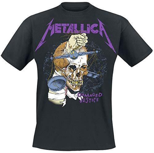 Metallica Damage Hammer Camiseta Negro XXL