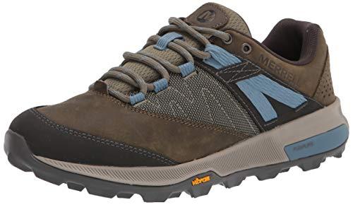 Merrell Women's Zion Hiking Shoe, Dark Olive, 7.5