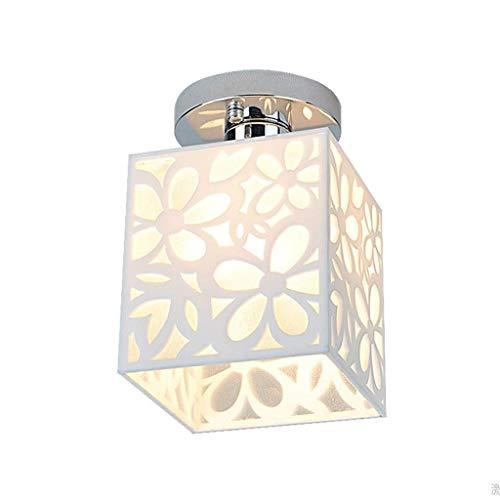 Lámpara de techo Corredor de la luz del pasillo luz del pasillo del techo del vestíbulo artefacto de iluminación Iluminado Porche Balcón pendiente de la lámpara de techo de iluminación Lámpara de arañ