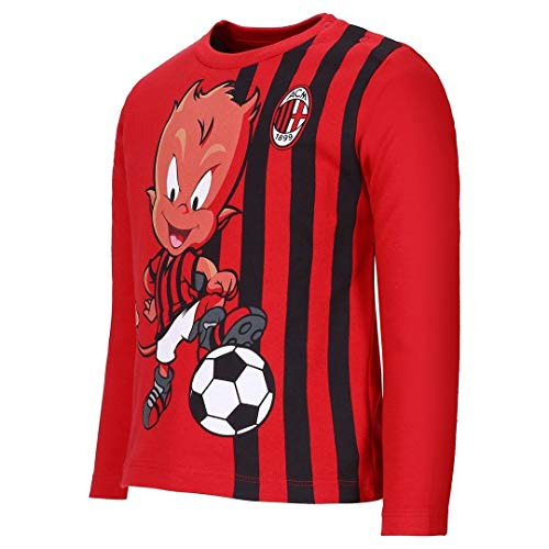 T-Shirt Milan Neonato Maglietta Bambino Primi Mesi PS 27933-24 Mesi