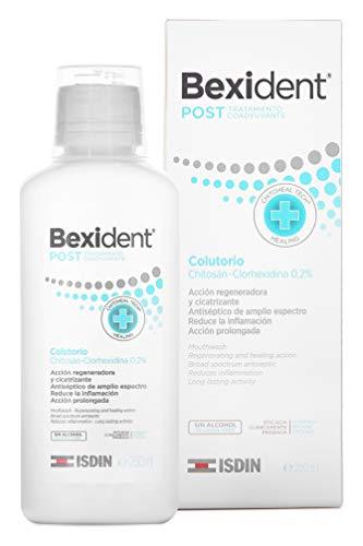 Isdin Bexident Post Tratamiento Coadyuvante Colutorio, Acelera la Recuperación Post-Intervención1 x 250 ml