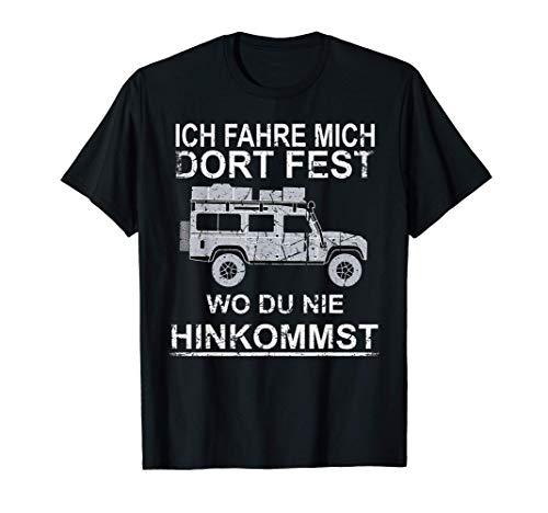 Defender Dachzelt Offroad 4x4 Reisefahrzeug T-Shirt