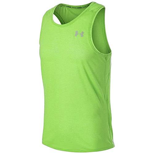 Under Armour Threadbourne - Camiseta de tirantes para hombre, color verde, Hombre, color verde, tamaño XL