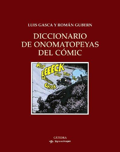Diccionario de onomatopeyas del cómic (Signo E Imagen)
