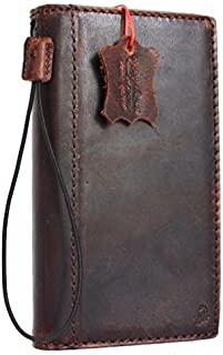 Genuine Vintage Full Leather Case for Google Pixel XL Book Wallet Slim Cover Handmade Luxury Retro Brown Cards Slots Thin DavisCase
